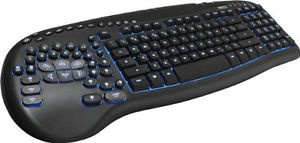 Steelseries MERC Stealth Illuminated Igaming Keyboard