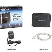 TRENDnet TEW-810DR AC750 Dual-Band Wireless Router BNIB